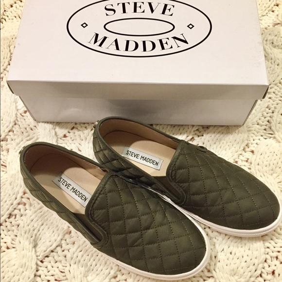 Steve Madden Shoes | Olive Green Steve